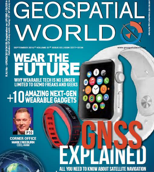 Geospatial World Magazine Septembre 2016